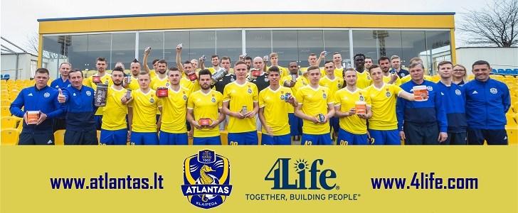 4Life стала эксклюзивным спонсором команды Футбольный клуб Atlantas